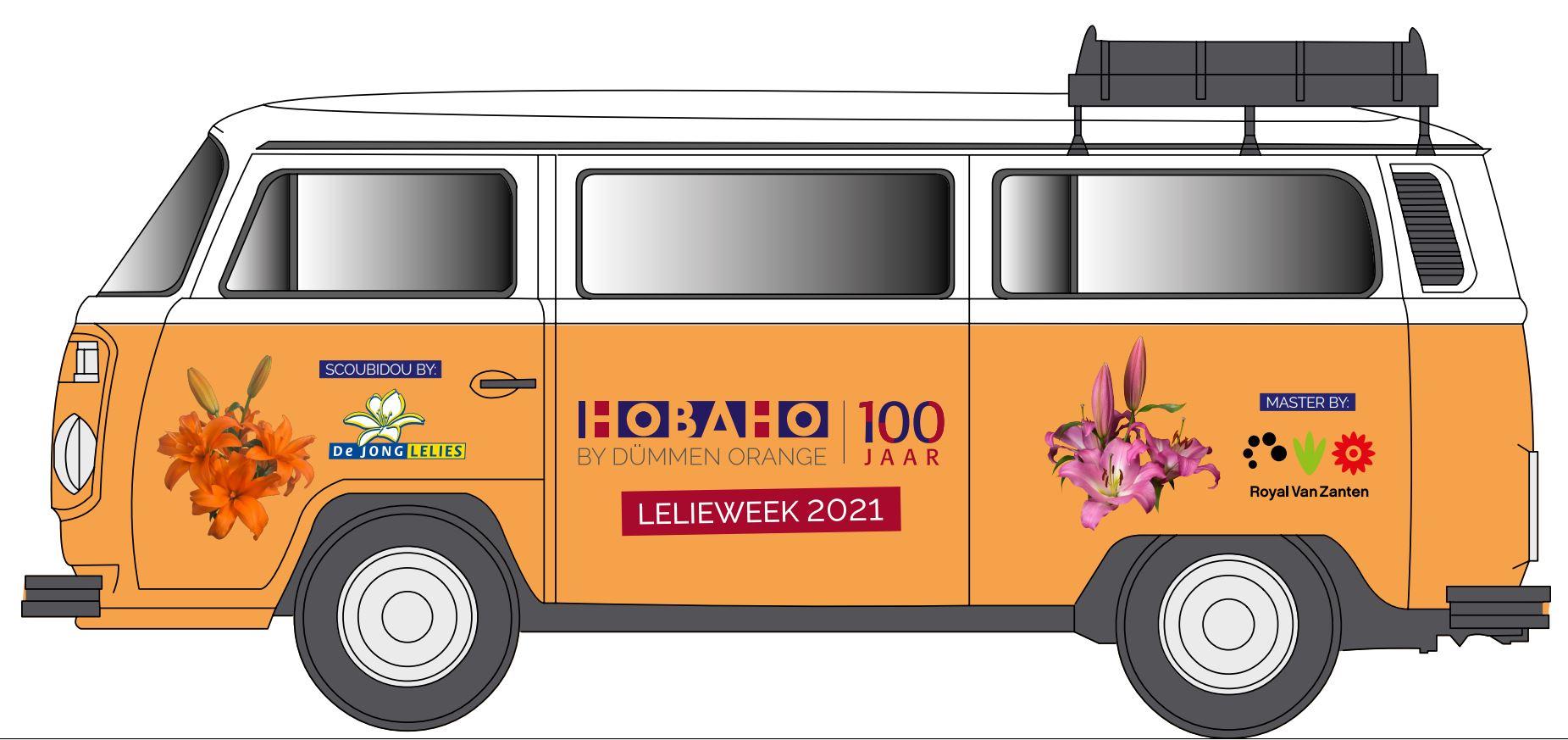 Hobaho lelieweek 'on tour'
